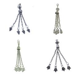 Zinc Alloy Chain Tassel