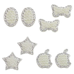 Strass Clay Pave Cabochon