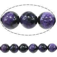 Perles naturelles Charoite