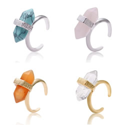 Natural Gemstone Finger Ring