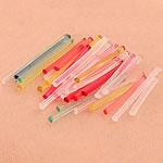 Plastic oorpinnen