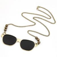Zinc Alloy Sweater Chain Necklace