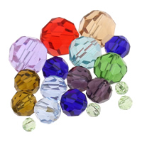 Round Crystal Beads