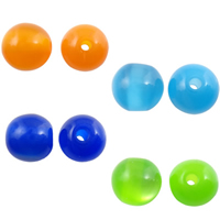 Imitation Cats Eye Resin Beads