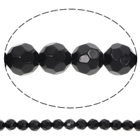 Natural Black Stone Beads