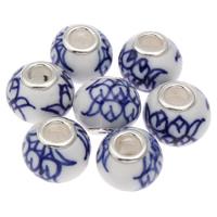 Perles European en porcelaine