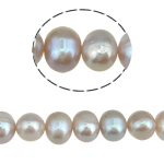 Potato Cultured Freshwater Pearl Beads, natural, purple, 8-9mm, Hole:Approx 0.8mm, Sold Per 15 Inch Strand