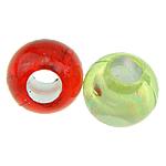 Koraliki plastikowe , Plastik ABS, Bęben, mieszane kolory, 6x5mm, otwór:około 2.5mm, 6000komputery/torba, sprzedane przez torba