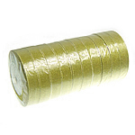 Sparkle Ribbon, gold, 20mm, Length:250 Yard, 10PCs/Lot, Sold By Lot