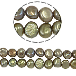 Baroque Cultured Freshwater Pearl Beads, light coffee, 4-5mm, Hole:Approx 0.8mm, Sold Per Approx 14.5 Inch Strand