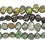 Baroque Cultured Freshwater Pearl Beads, mixed colors, 3-4mm, Hole:Approx 0.8mm, Length:14.5 Inch, 10Strands/Bag, Sold By Bag