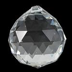 Zawieszki kryształowe, Kryształ, Łezka, kryształowy, 40x45mm, otwór:około 2mm, sprzedane przez PC