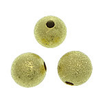 Brass Stardust Beads, gold color, nickel, lead & cadmium free, 8mm, Hole:Approx 2mm , 1500pcs/Bag , Sold by Bag