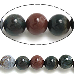 Natural Indian Agate Beads, Round, 14mm, Hole:Approx 1.5mm, Approx 27PCs/Strand, Sold Per Approx 15.5 Inch Strand