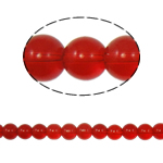 Round Crystal Beads, siam, 10mm, Hole:Approx 2mm, Length:Approx 11 Inch, 10Strands/Bag, Sold By Bag