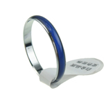 кольцо с эмалью настроения , Латунь, не содержит никель, свинец, 2.50mm, отверстие:Приблизительно 16-19mm, 100ПК/сумка, продается сумка