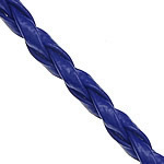 Leather Cord PU blue 3mm Length:100 Yard