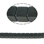 Magnetic Hematite Beads, 6x6mm, Hole:Approx 1mm, Length:15.5 Inch, 10Strands/Lot, Sold by Lot