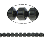 Magnetic Hematite Beads, Column, black, Grade A, 6x6mm, Hole:Approx 1.5mm, Length:15.5 Inch, 10Strands/Lot, Sold By Lot