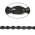 Magnetic Hematite Beads, 5x8mm, Hole:Approx 2mm, Length:15.5 Inch, 10Strands/Lot, Sold by Lot