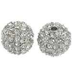 Rhinestone Jewelry Beads, 12mm, Hole:Approx 2mm, 10PCs/Bag, Sold by Bag