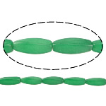 Natural Jade Beads, Jade Malaysia, Oval, green, 29.50x10mm, Hole:Approx 1.5mm, Length:Approx 14 Inch, Approx 12Strands/Lot, Sold By Lot