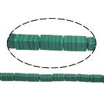 Natural Malachite Beads, Rectangle, 8.50x4mm, Hole:Approx 1mm, Approx 47PCs/Strand, Sold Per Approx 15.5 Inch Strand