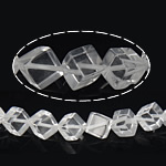 Quartz Jewelry Beads, 14.50x15.50x9mm, Hole:Approx 1mm, approx 30PCs/Strand, Sold per approx 15 Inch Strand