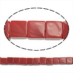 Natural Jade Beads, Jade Red, Cube, 8.50x8.50x8.50mm, Hole:Approx 1.5mm, Approx 49PCs/Strand, Sold Per Approx 16 Inch Strand