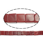 Natural Jade Beads, Jade Red, Cube, 6x6x6mm, Hole:Approx 1mm, Length:Approx 15.5 Inch, Approx 64Strands/Lot, Sold By Lot
