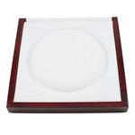 Drewniane pudełko na naszyjnik, Drewno, Kwadrat, 200x200x22mm, sprzedane przez PC