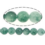 Natural Marble Beads, Dyed Marble, Round, green, 8mm, Hole:Approx 1mm, Length:Approx 15 Inch, 5Strands/Lot, Sold By Lot