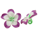 Koraliki z gliny polimerowej, Glina polimerowa, Kwiat, 50x49x20mm, otwór:około 5mm, 100komputery/torba, sprzedane przez torba