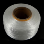 Elastic Thread, Nylon, white, 0.8-1mm, Length:Approx 4500 m, Sold By PC