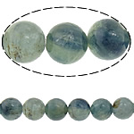 Natural Quartz Jewelry Beads, Kyanite, Round, 8mm, Hole:Approx 1mm, Length:Approx 16 Inch, 2Strands/Lot, Approx 51PCs/Strand, Sold By Lot