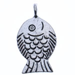 Zinc Alloy Animal Pendants, antique silver color plated, nickel, lead & cadmium free, 25x14x5mm, Hole:Approx 2.5mm, Approx 450PCs/KG, Sold By KG