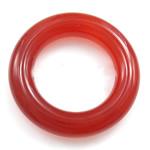 Wisior z czerwonym agatem, Agat czerwony, Pączek, 26x26mm, 10komputery/torba, sprzedane przez torba