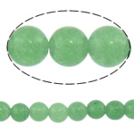 Natural Aventurine Beads, Green Aventurine, Round, green, 4mm, Length:Approx 16 Inch, 20Strands/Lot, Approx 101PCs/Strand, Sold By Lot