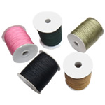 Nylon Thread, with plastic spool, mixed colors, 1mm, 5PCs/Lot, Sold By Lot