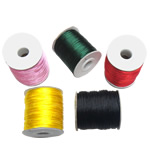 Nylon Cord, with plastic spool, mixed colors, 1mm, 10PCs/Lot, Sold By Lot