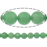 Natural Aventurine Beads, Green Aventurine, Round, 10mm, Hole:Approx 1.8mm, Length:Approx 15 Inch, 5Strands/Lot, Approx 37PCs/Strand, Sold By Lot