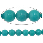 Natural Marble Beads Round sea blue 12mm Hole:Approx 1.2mm Length:Approx 15.8 Inch 10Strands/Lot Approx 33PCs/Strand