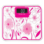 Digital Pocket Scale, Tempered Glass, Rectangle, pink, 215x180x40mm, Sold By PC