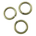 Iron Closed Jump Ring, 5x0.7mm, Hole:Approx 3.5mm, 25575PCs/KG, Sold by KG