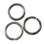 Iron Closed Jump Ring, 7x1mm, Hole:Approx 5.2mm, approx 8000PCs/KG, Sold by KG