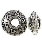 Zinc Alloy Spacer Beads, Rondelle, antique silver color plated, nickel, lead & cadmium free, 8x4mm, Hole:Approx 3mm, approx 1665PCs/KG, Sold by KG