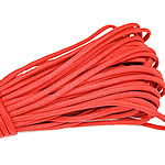 Paracord, 330 Paracord, reddish orange, 4mm, 5Strands/Lot, 31m/Strand, Sold By Lot
