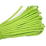 Paracord, 330 Paracord, fluorescent green, 4mm, 5Strands/Lot, 31m/Strand, Sold By Lot