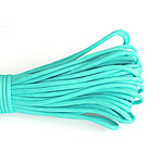 Paracord, 330 Paracord, acid blue, 4mm, 5Strands/Lot, 31m/Strand, Sold By Lot