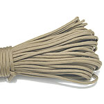 Paracord, 330 Paracord, Coyote Brown, 4mm, 5Strands/Lot, 31m/Strand, Sold By Lot